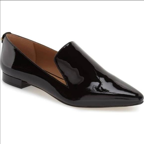 8f7d2e0bf3a Calvin Klein Shoes - Calvin Klein Elin Black Patent Loafer size 7 1 2